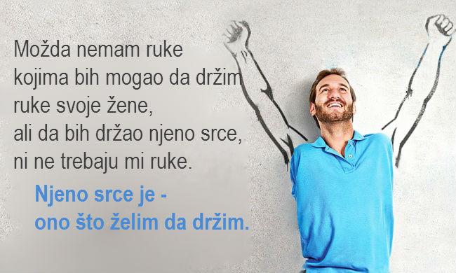 20 snažnih citata Nika Vujčića, koji aktiviraju želju za životom.