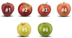 Izaberite jabuku koju biste pojeli i saznajte o sebi nešto vrlo zanimljivo…