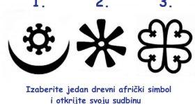 Afrički simbol koji odaberete otkriva nešto o vama