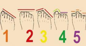 Šta prsti na nogama mogu reći o vašem karakteru?!