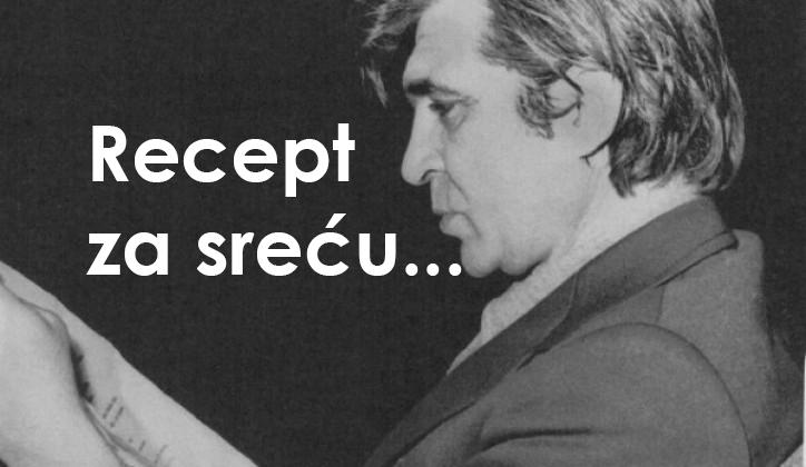 RECEPT ZA SREĆU: Najtačniji i najjednostavniji savjet za život dao je čuveni pjesnik MIKA ANTIĆ!