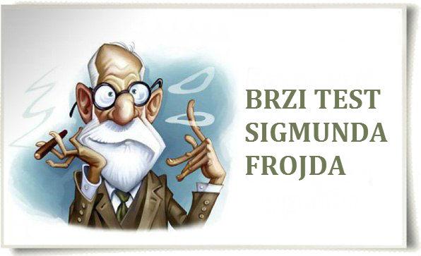 Psihološki test Sigmunda Frojda. Provjerite sebe!