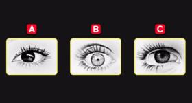 Izaberite jedno oko sa slike i otkrijte vaš tip ličnosti