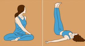 Jednostavne poze joge za početnike, koje će vas osloboditi bola u leđima i drugih problema