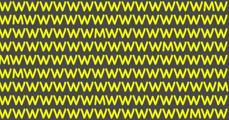 """Samo mali dio ljudi će proći ovaj test: Koliko slova """"M"""" vidite na ovoj slici?"""
