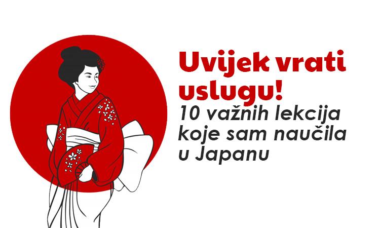 """""""Uvijek vrati uslugu!"""" – 10 važnih lekcija koje sam naučila u Japanu"""