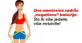 """Ove namirnice sadrže """"negativne"""" kalorije: Što ih više jedete, više mršavite!"""