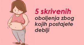 5 skrivenih oboljenja zbog kojih postajete deblji