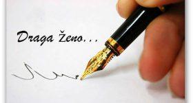 Pismo muža – ženi
