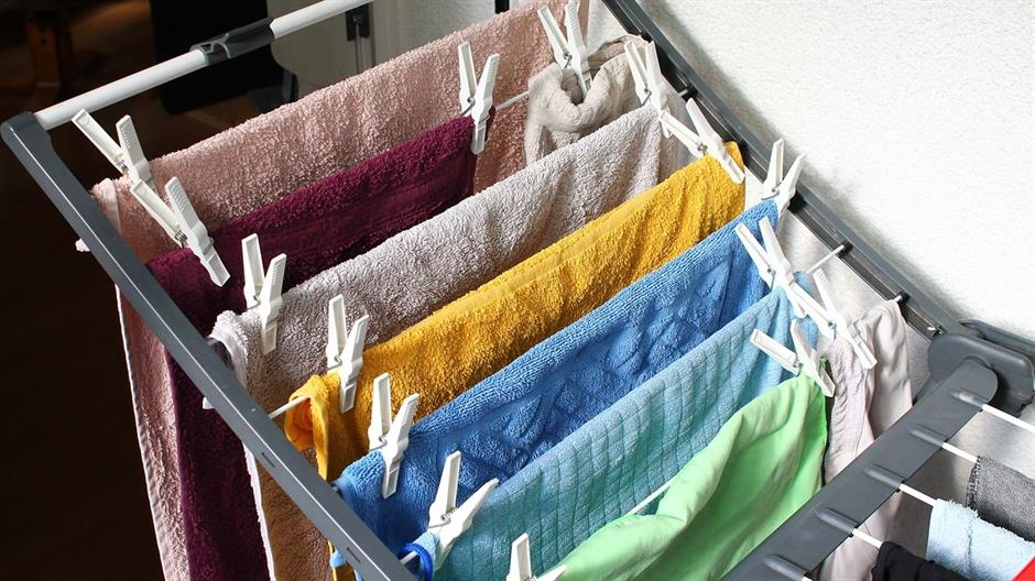 Sušenje rublja u stanu štetno je za zdravlje svih ukućana