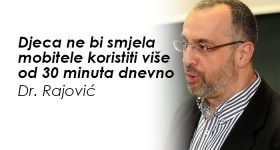 Doktor Rajović genijalno objasnio: Šta se dešava sa djetetom kada mu kupite mobilni telefon