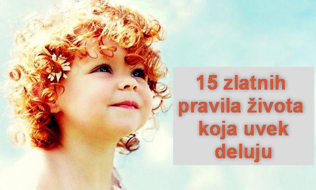 15 zlatnih pravila života koja uvijek djeluju