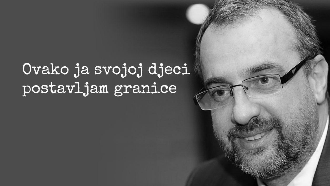 """Doktor Rajović savjetuje: """" Djeci se trebaju postaviti granice i to na dva načina"""""""