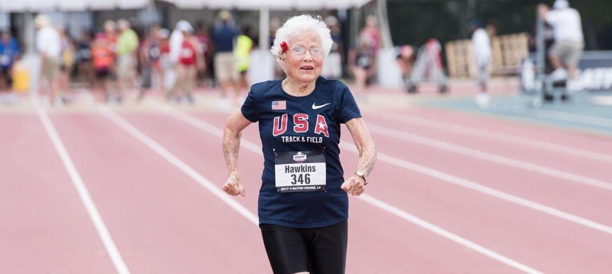 Baka Uragan ima 103 godine, dvije zlatne medalje i više energije od vas